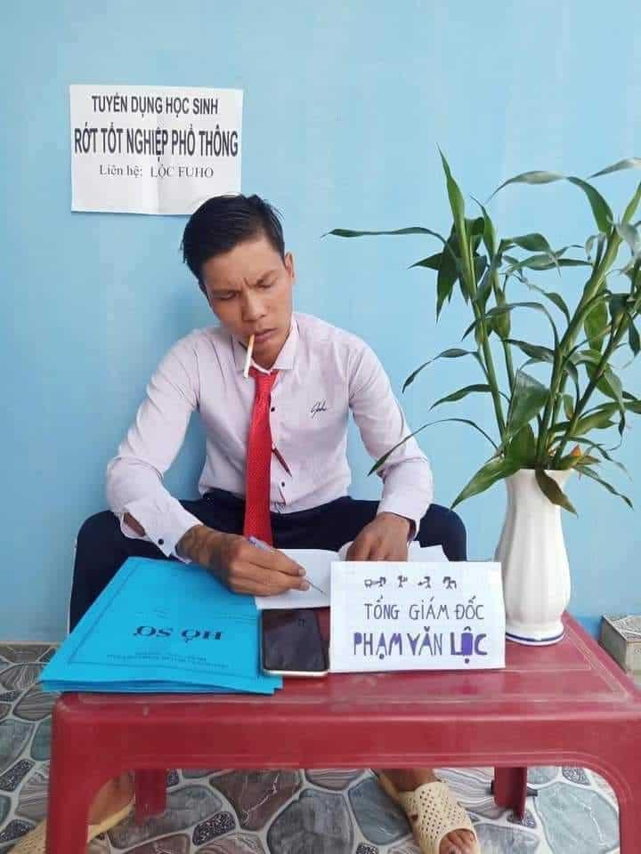 Tranh thủ tuyển dụng thì thời cơ tới, meme có nguồn gốc từ Lộc Fuho - Nguồn ảnh: Internet