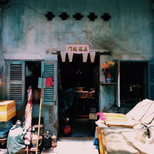 Khu người Hoa ở Sài Gòn. Ảnh: Internet