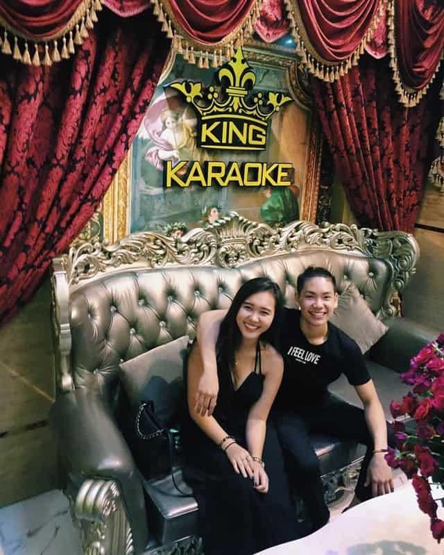 King Karaoke là địa điểm lý tưởng được nhiều cặp đôi lựa chọn