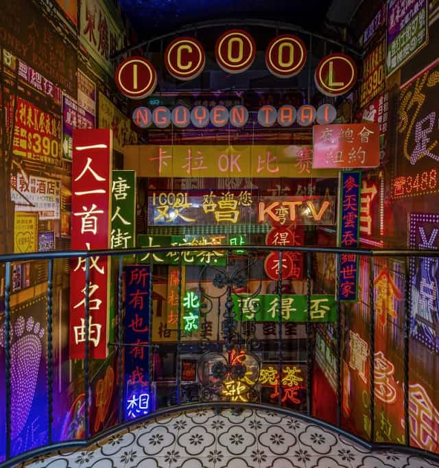 Karaoke Icool được thiết kế với phong cách retro đậm chất Hong Kong