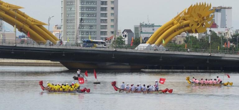 Lễ hội đua thuyền là nét đẹp văn hóa của người dân tỉnh Đà Nẵng