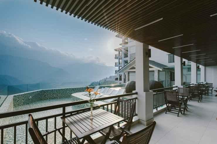 Khách sạn có view ngắm nhìn ra khung cảnh thiên nhiên tuyệt vời - Nguồn ảnh: Internet