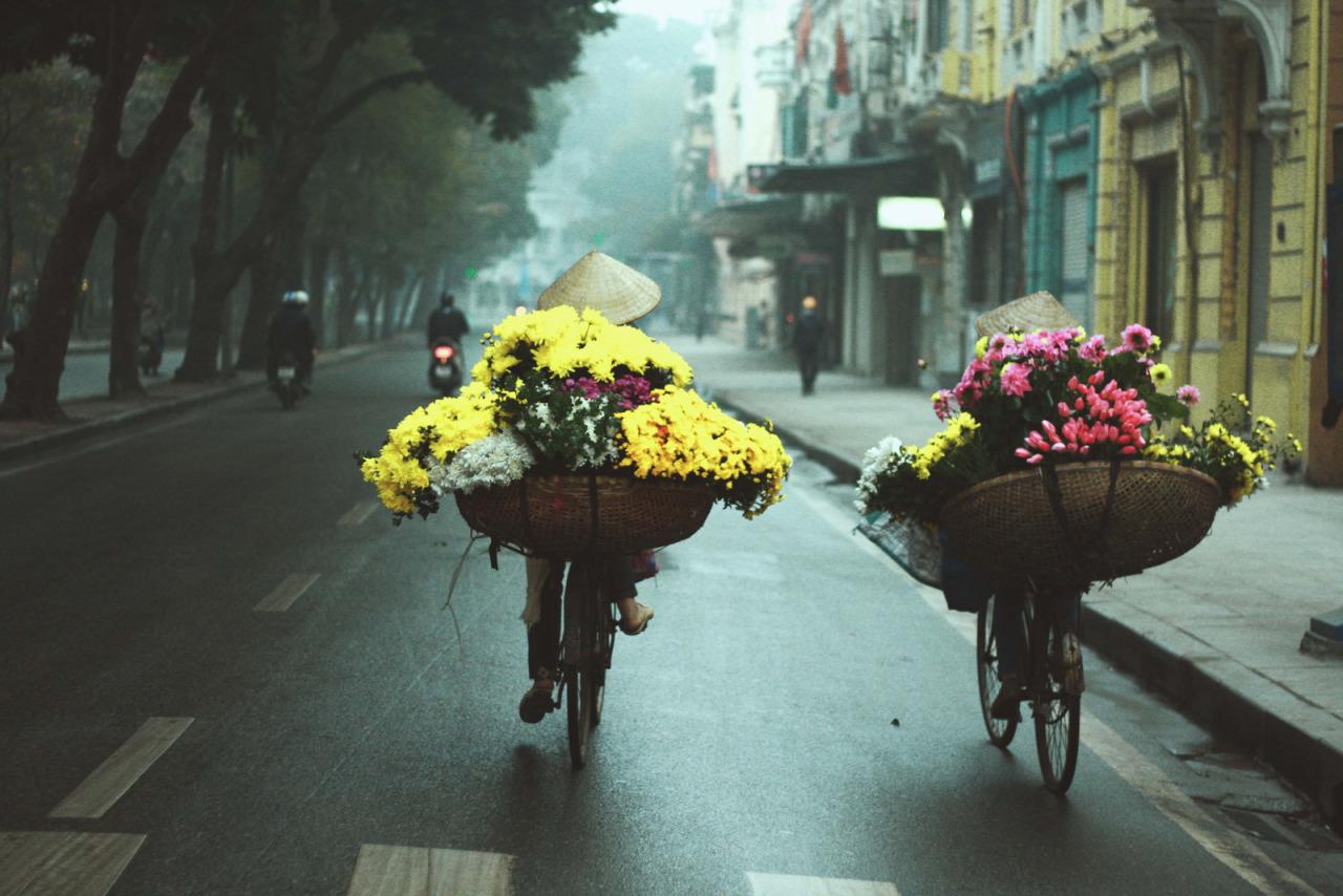 Đường phố Hà Nội những ngày vào đông - Nguồn ảnh: Internet