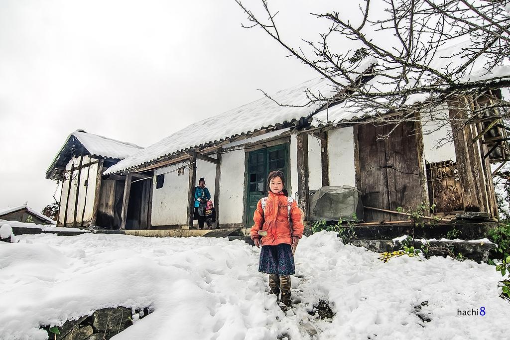 Thời tiết Sapa vào tháng 12 rất lạnh. Hình: Sưu tầm: Hachi8Photos