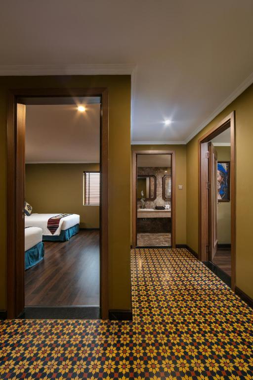 Phòng Family Suite Room có đến 2 phòng ngủ riêng biệt vô cùng rộng rãi