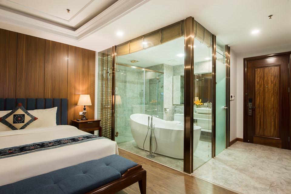 Grand deluxe được trang bị bồn tắm lớn - Nguồn ảnh: Internet