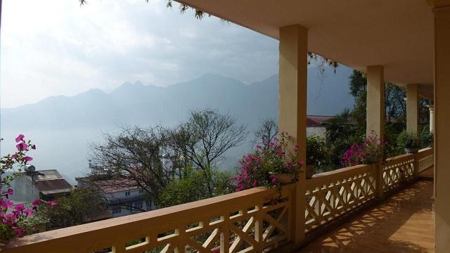 View núi rừng Sapa tuyệt đẹp