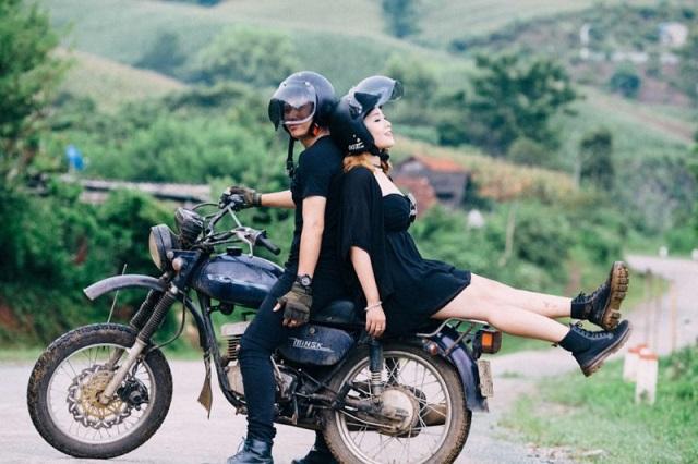Bạn có thể thuê xe máy để khám phá Sapa