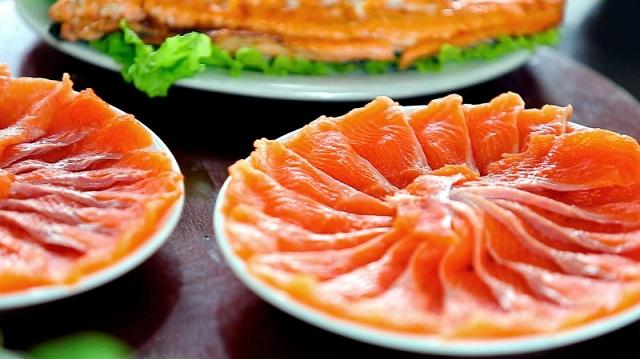 Cá hồi là một trong những món ăn không thể bỏ lỡ khi tới Sapa