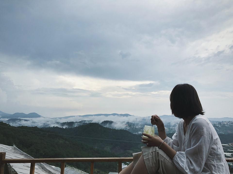 Chill giữa đất trời Đà Lạt vào đông - Nguồn ảnh: Internet