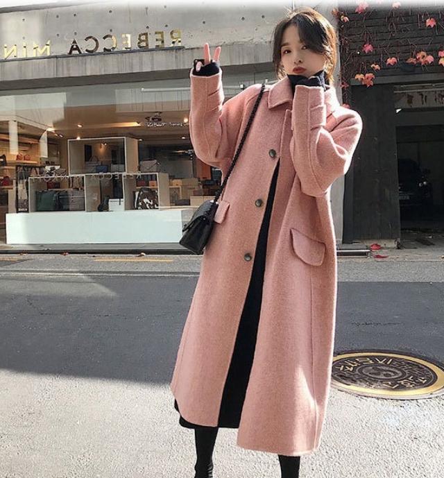 Áo khoác dạ dáng dài siêu ấm áp trong mùa đông. Ảnh: Internet