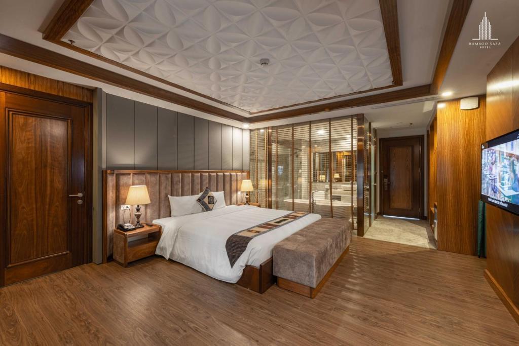 Phòng suite có hướng núi có diện tích lớn được thiết kế trang nhã - Nguồn ảnh: Internet