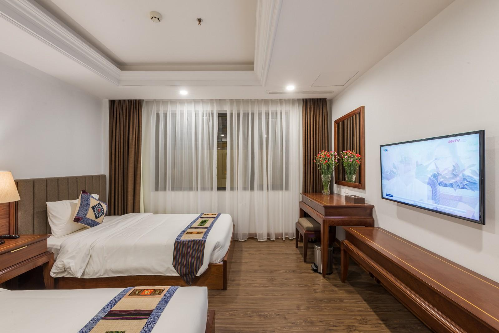 Không gian bên trong phòng superior tại Bamboo hotel - Nguồn ảnh: Internet