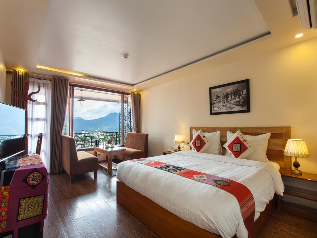 Phòng nghỉ tại Sapa Centre Hotel