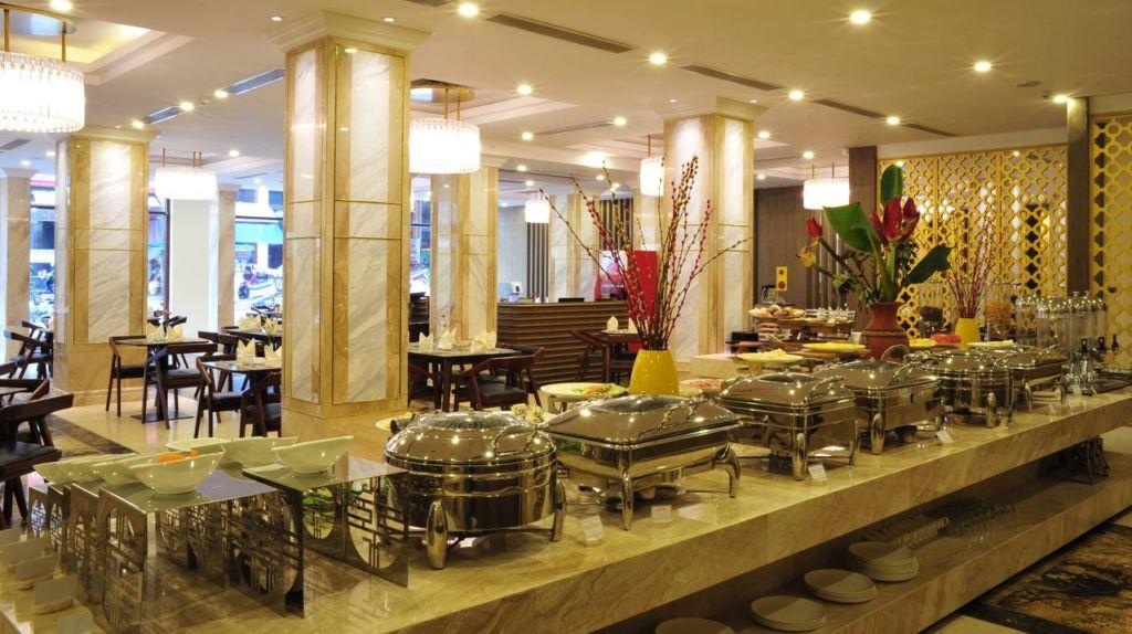 Nhà hàng tại khách sạn Sapa Legend Hotel & Spa