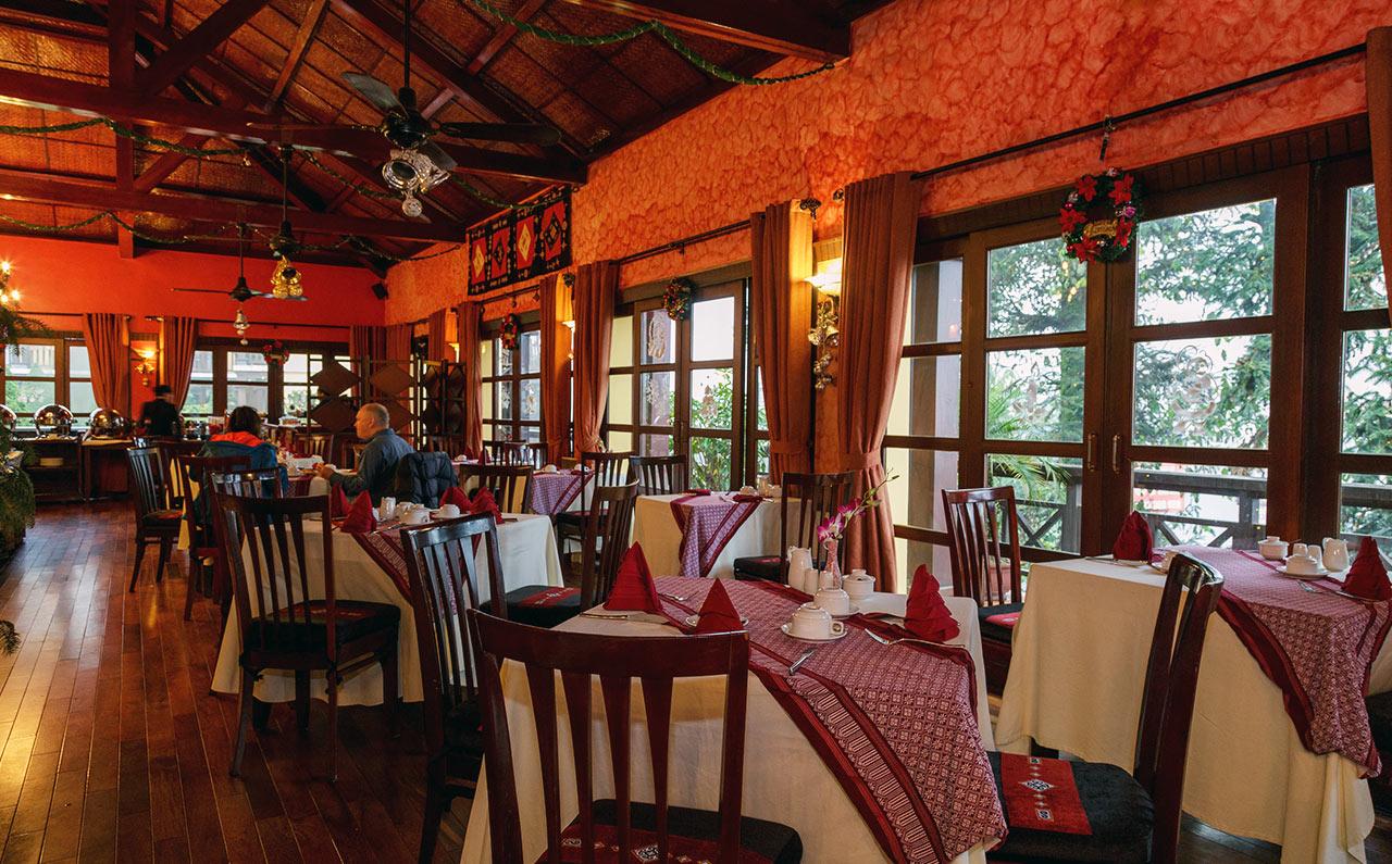 Nhà hàng tại Victoria Sapa