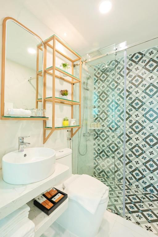 Phòng vệ sinh của hạng phòng Deluxe