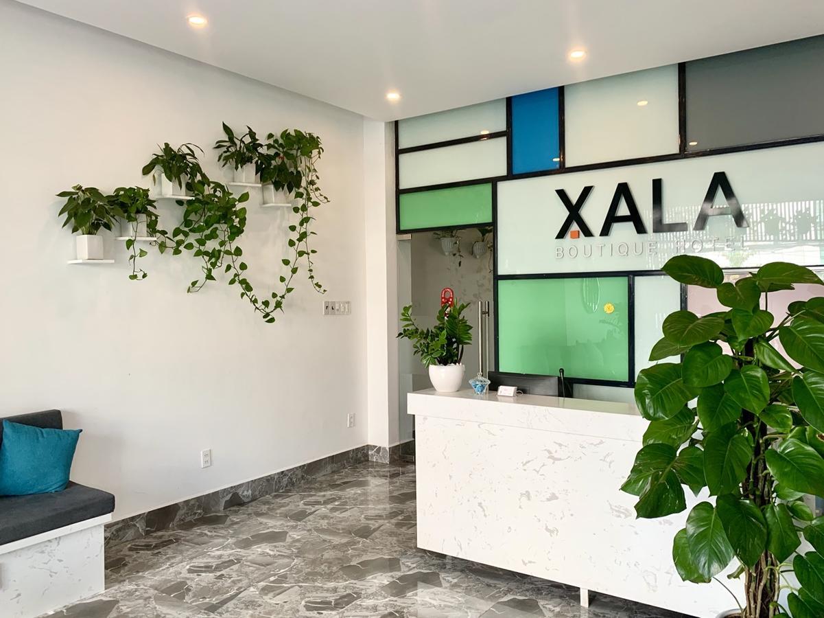 Quầy lễ tân của Xala Boutique Hotel