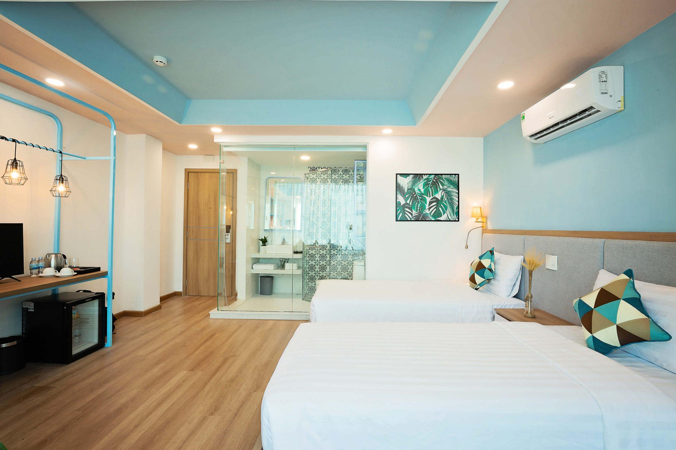 Phòng Premium với 2 giường đơn