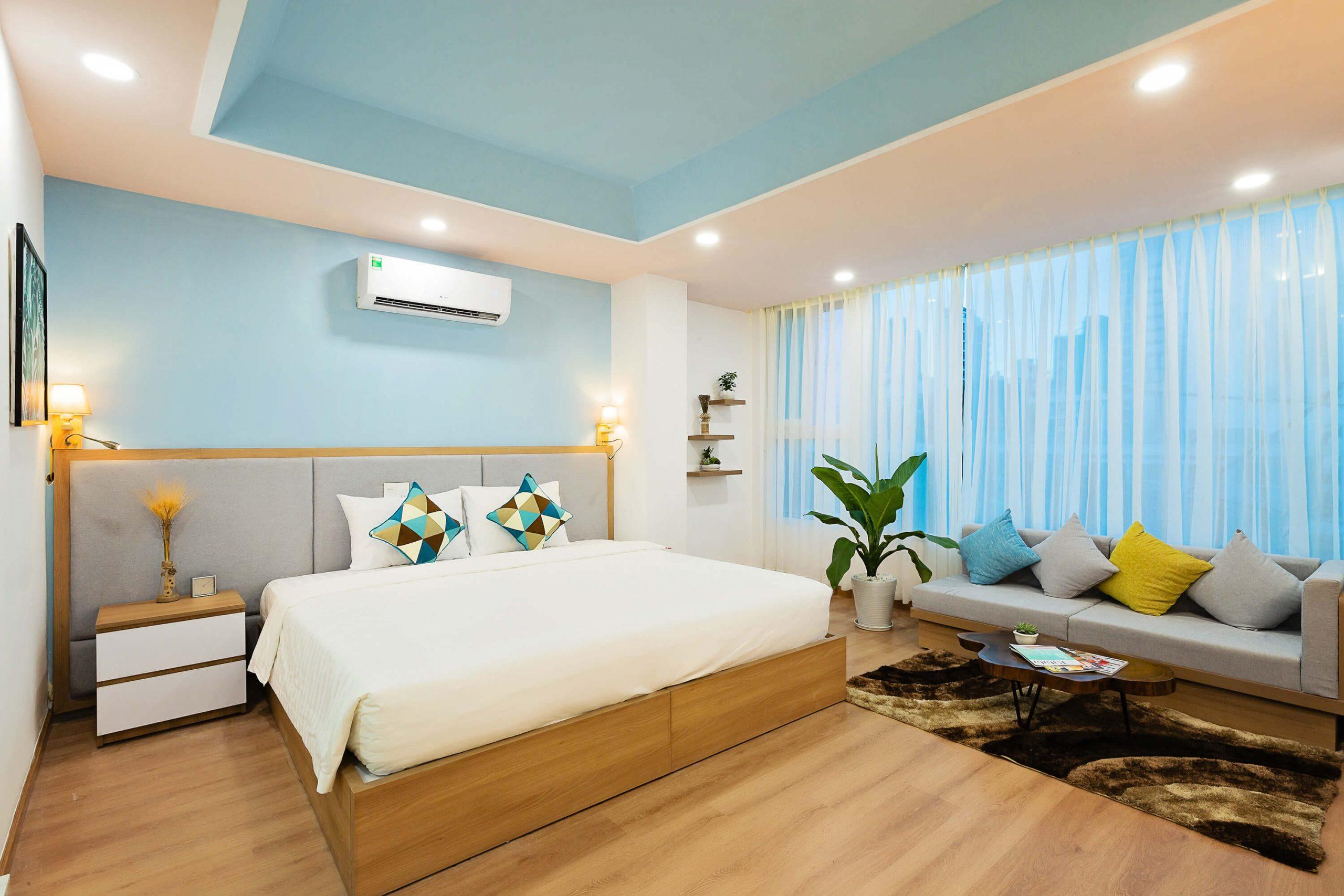 Phòng Premium với 1 giường đôi King-sized