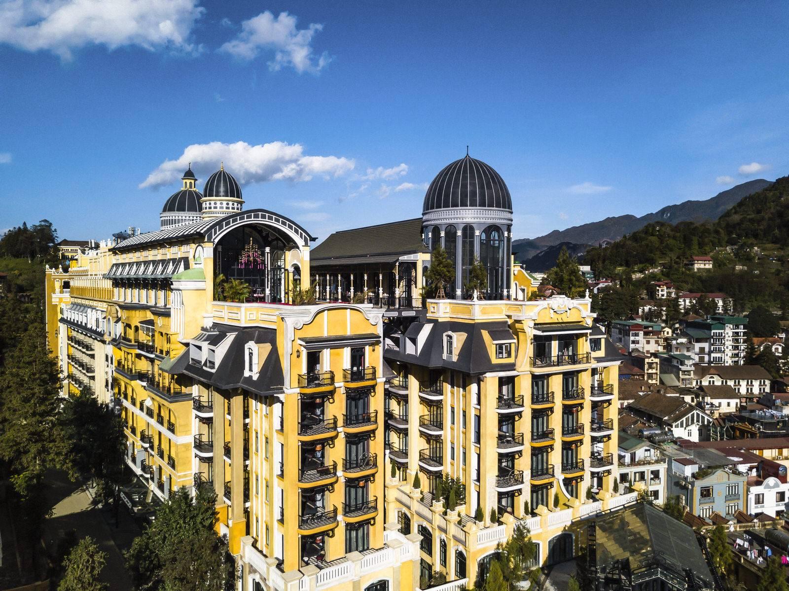 Kiến trúc Pháp tuyệt đẹp của Hotel De La Coupole Sapa