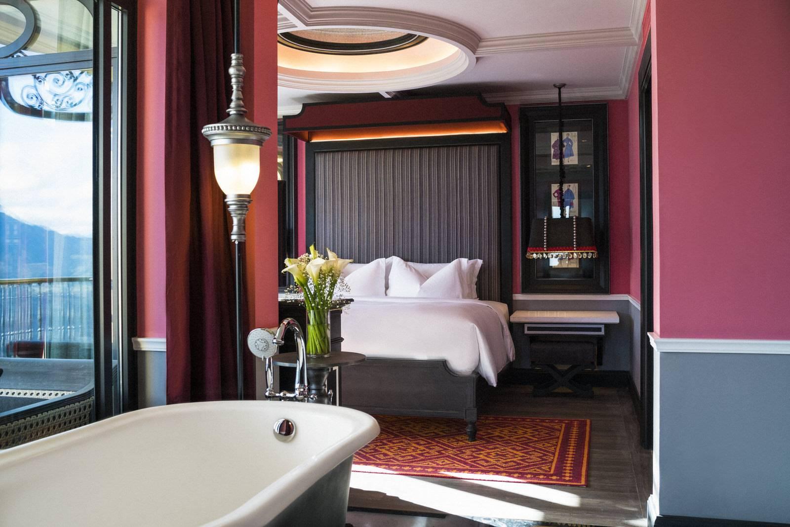 Thiết kế các phòng nghỉ tại đây là đại diện cho những gì tinh tế và sang trọng nhất