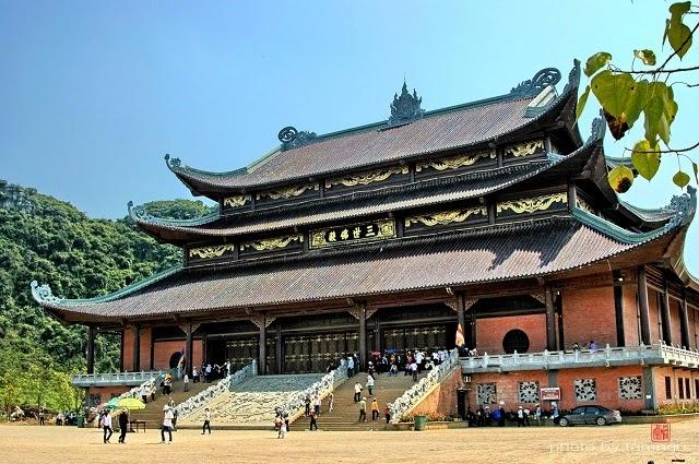 Chùa Bái Đính - ngôi chùa to nhất Đông Nam Á