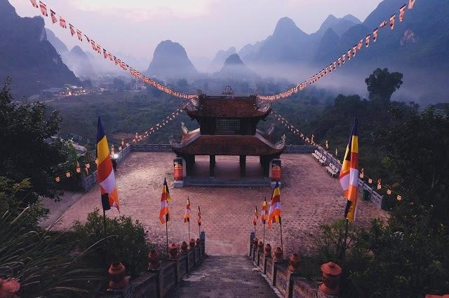 Hành trình trở về vùng đất thiêng Yên Tử