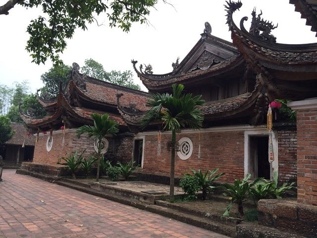 Chùa Tây Phương là ngôi chùa cổ thứ hai chỉ sau chùa Dâu Bắc Ninh