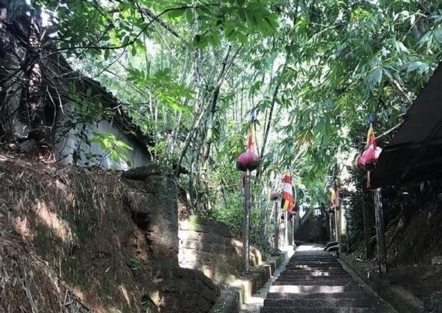 Đường lên chùa Tây Phương