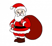 Cách vẽ ông già Noel đơn giản nhất cho bé