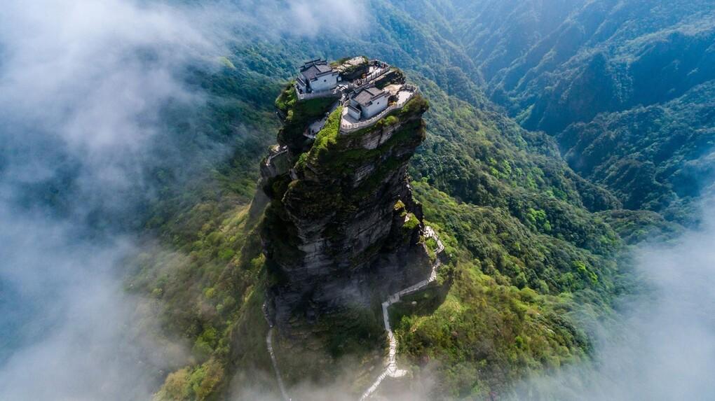 Kỳ quan du lịch núi Phạm Tịnh Sơn (Trung Quốc)