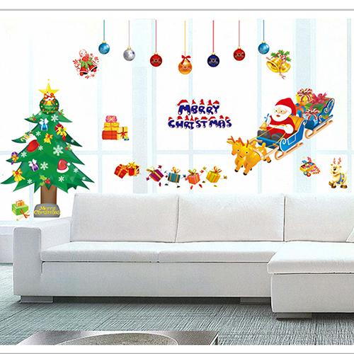 Một ưu điểm không thể không kể tới của các mẫu decal trang trí Noel đó là dễ sử dụng, tiết kiệm được khá nhiều thời gian và chi phí.