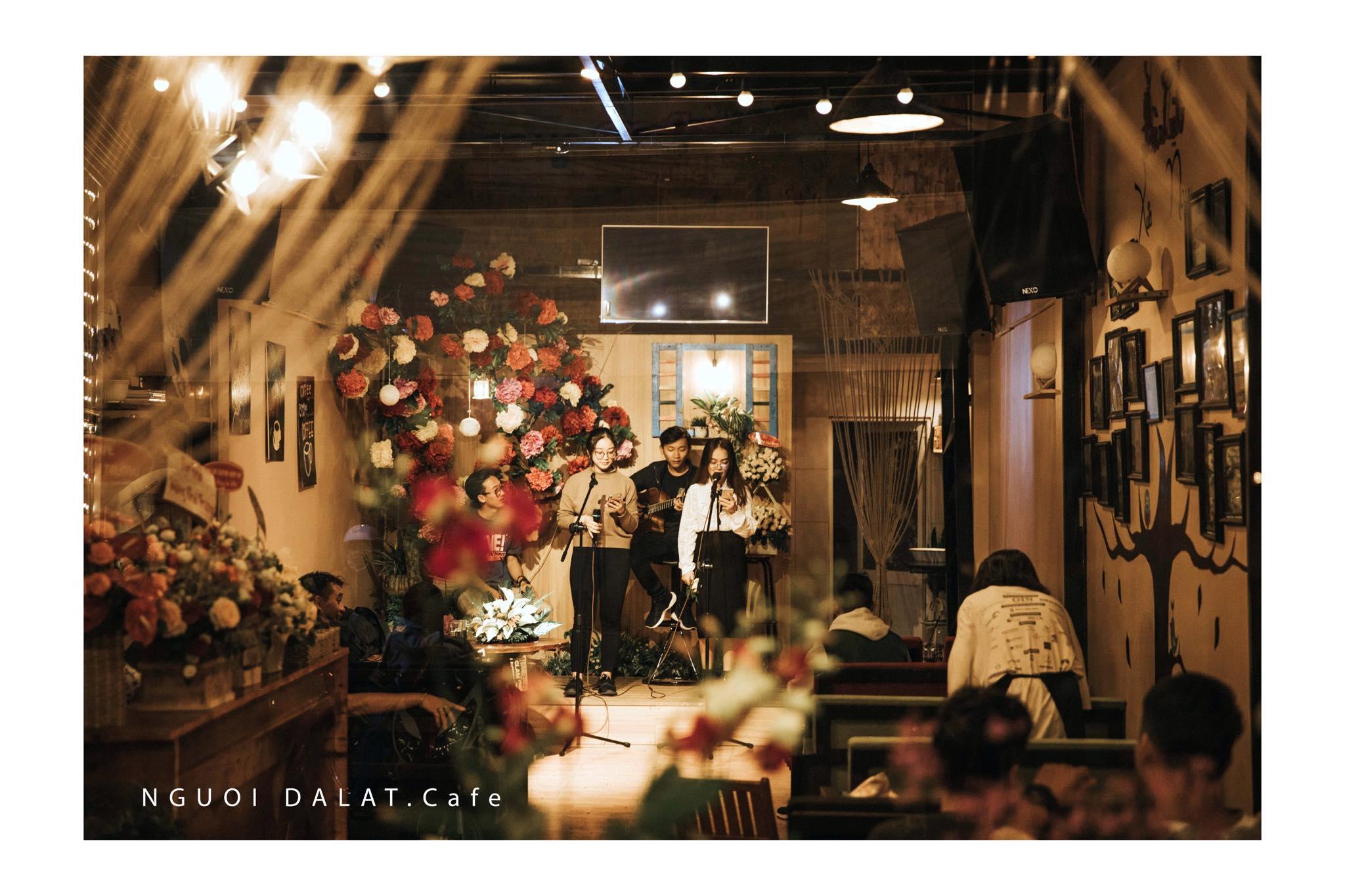Những quán cafe Acoustic chill nhất Đà Lạt