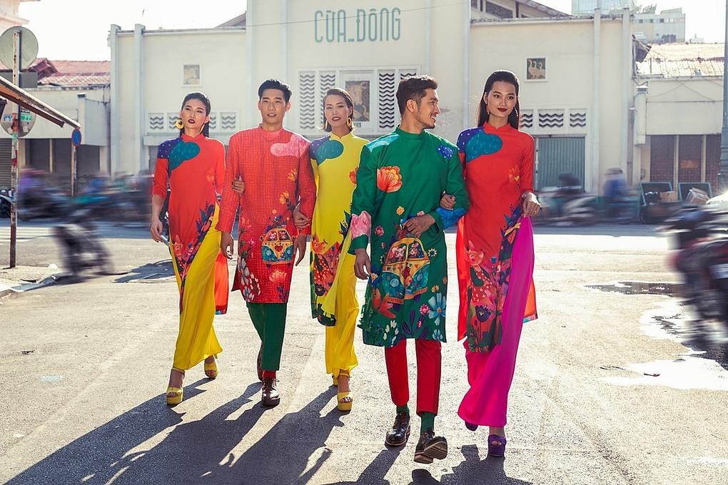 5 dịa điểm chụp ảnh áo dài ngày Tết đẹp ở Sài Gòn