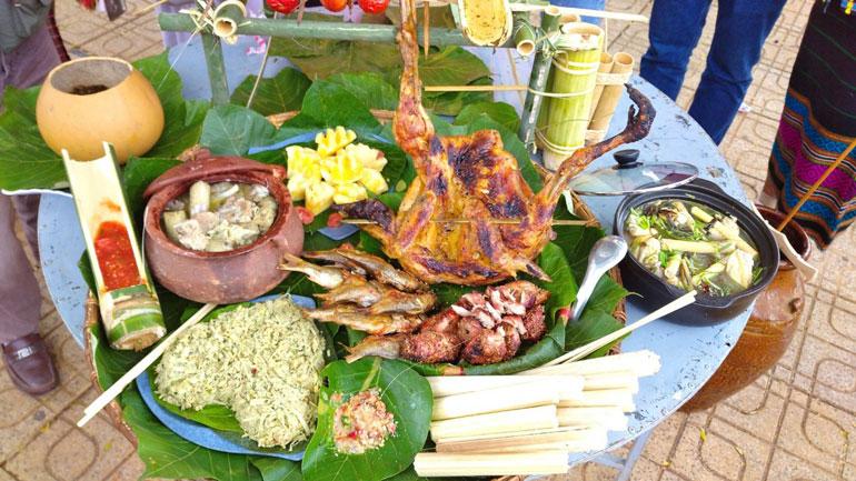 Văn hóa ẩm thực của người đồng bào dân tộc thiểu số huyện Cát Tiên vào những dịp lễ, tết