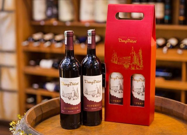 Rượu vang Đà Lạt thơm nồng, hấp dẫn. Ảnh: Internet