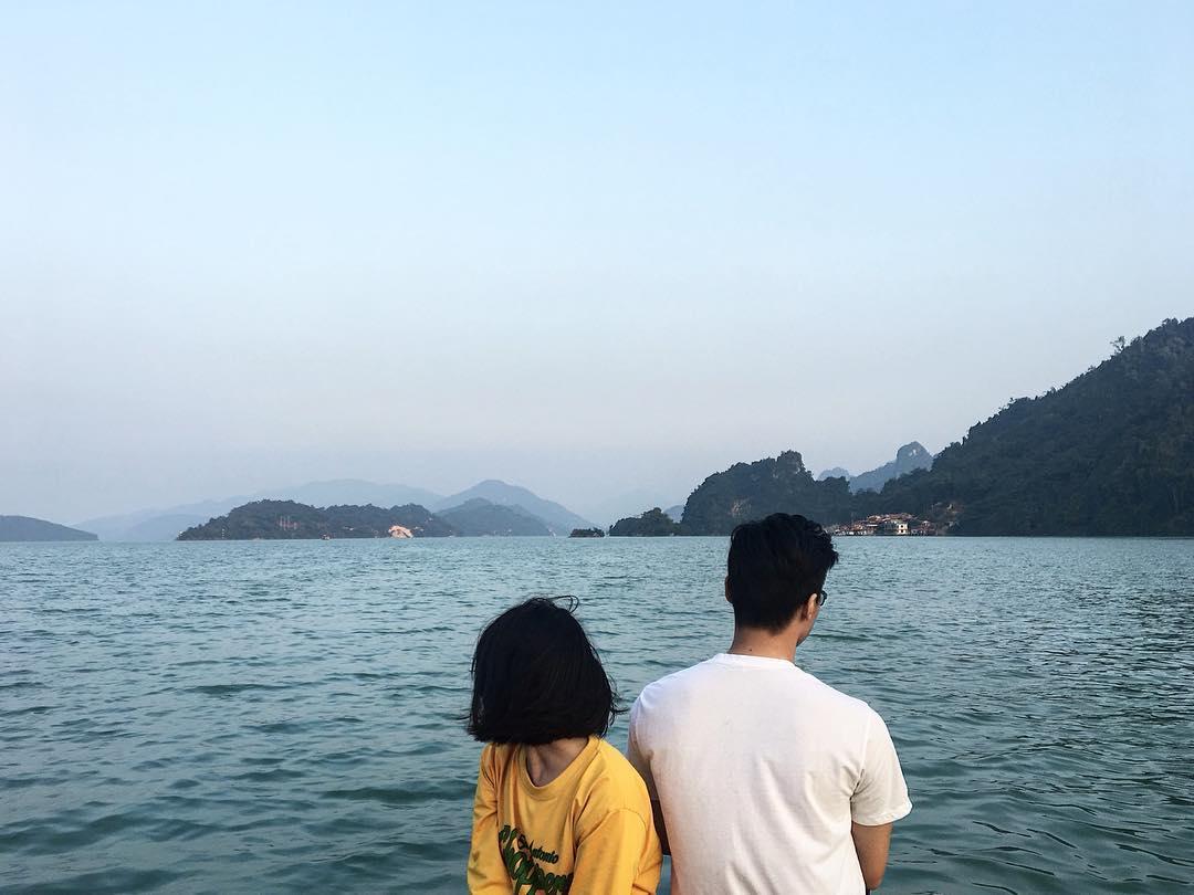 Cùng nhau ngắm cảnh, tận hưởng không khí trong lành. Hình: @mtuan_ng