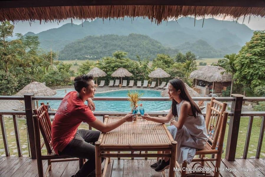 Mai Châu là điểm nghỉ dưỡng tuyệt vời dành cho cặp đôi. Hình: Mai Chau Ecolodge
