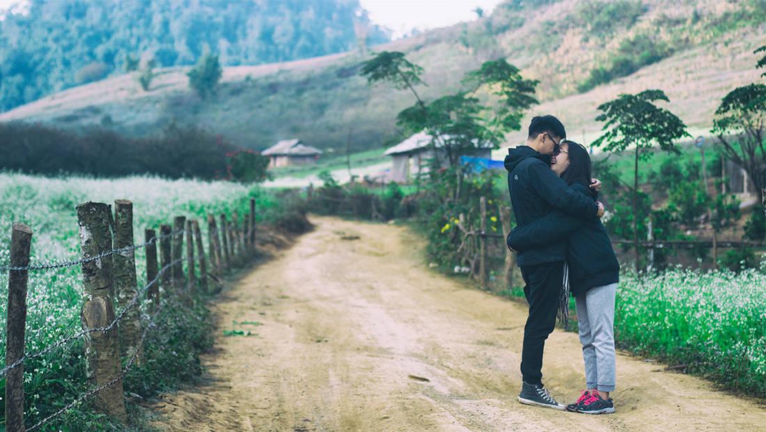 Du lịch Mộc Châu mùa hoa cải. Hình: Nguyễn Quỳnh Trang