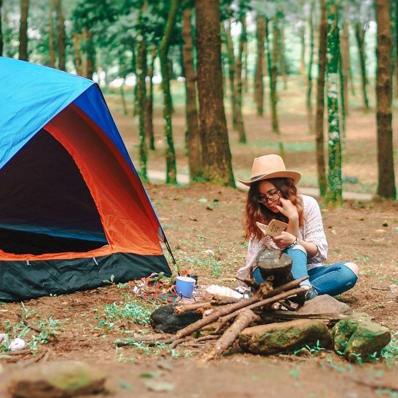 Trải nghiệm cắm trại tại Ba Vì. Hình: Sưu tầm
