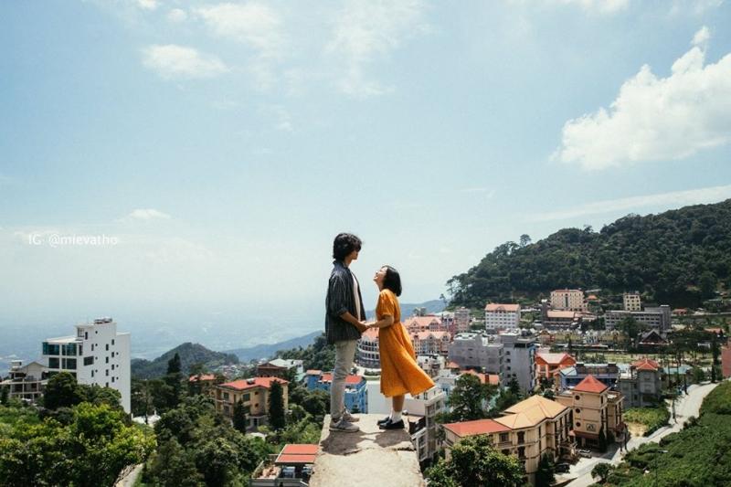 Tam Đảo là điểm đến yêu thích của các cặp đôi vì thiên nhiên khoáng đạt và nhiều cảnh đẹp. Hình: Ngân Vũ Kim