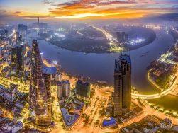 TP.HCM đứng đầu danh sách điểm đón năm mới yêu thích nhất 2021