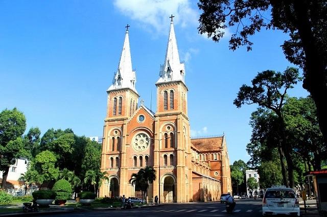Nhà thờ Đức Bà - Tp. Hồ Chí Minh