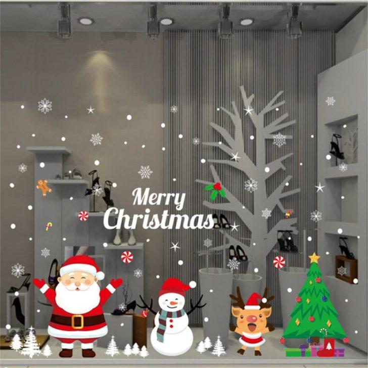 Decal với nhiều hình chủ đề Noel nổi bật