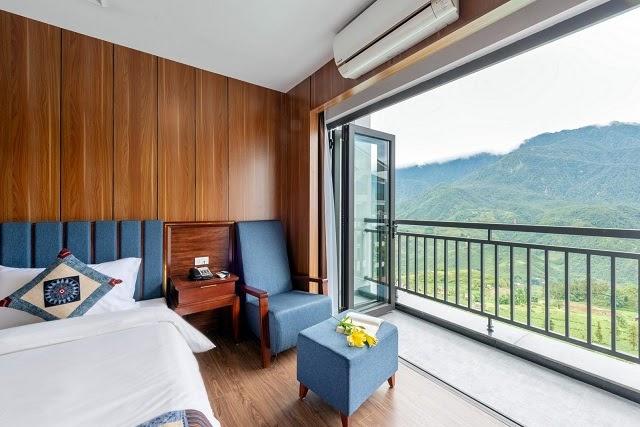 Khách sạn có hệ thống phòng đa dạng, đáp ứng nhiều nhu cầu của khách hàng
