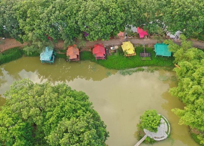 Hoà mình vào khung cảnh thiên nhiên tại KDL Cao Minh - Nguồn ảnh: Internet