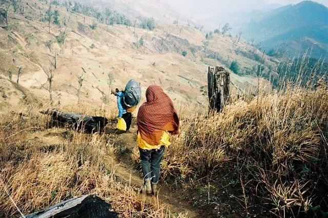 Cung đường cỏ khô trong hành trình chinh phục Lảo Thẩn