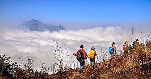 Săn mây trên đỉnh Lảo Thẩn