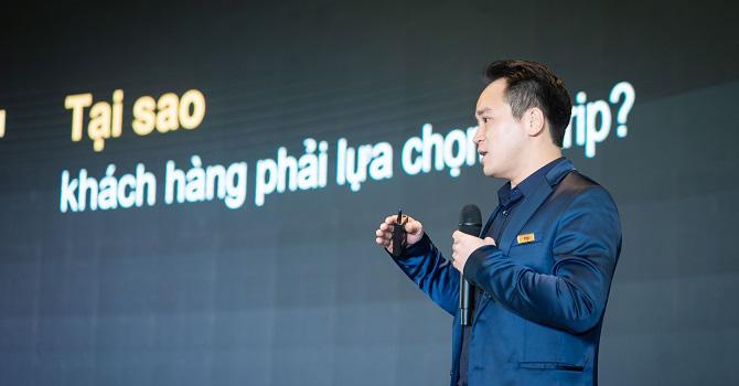 Nhà sáng lập và CEO Vntrip - ông Lê Đắc Lâm